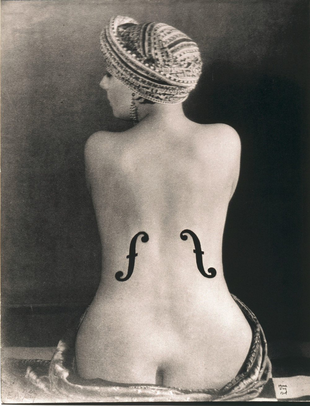 Man Ray Le Violon d' Ingres